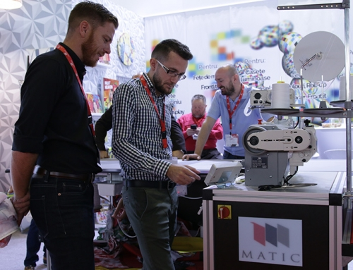 Matic Cronos Ultimate, expus in premiera la Textile Technolology Show
